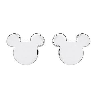 Disney Mickey Mouse Face Sterling Silver Stud Boucles d'oreilles