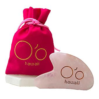 Rose Quartz Gua Sha Beauty Tool