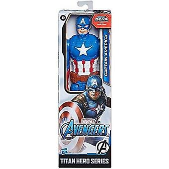 Avengers Titan Hero Captain America Actionfigur Barn Leksak