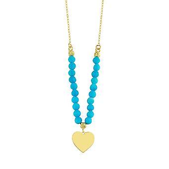 Collier d'or de coeur