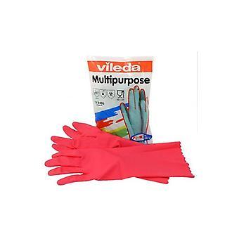 R™kawice Multipropósusgo Rojo M 100153 Vileda Profesional