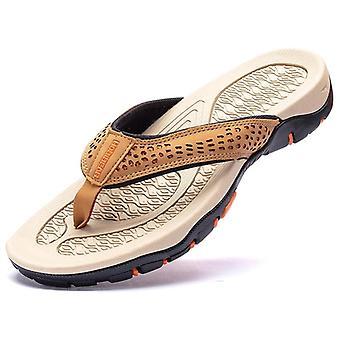 بو الجلود الصيف النعال الشاطئ الصنادل الراحة والأحذية عارضة