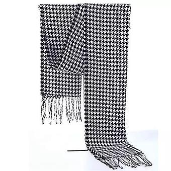 Hombres Mujeres Plaid Otoño Invierno Moda Casual Bufandas Cashmere Bufandas Hombre