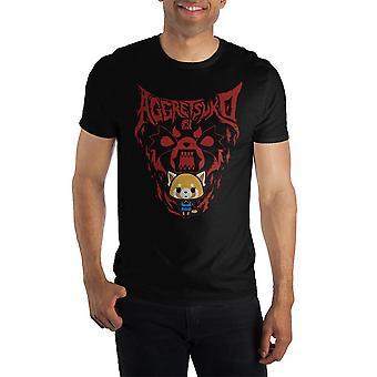 Aggretsuko rage short-sleeve t-shirt