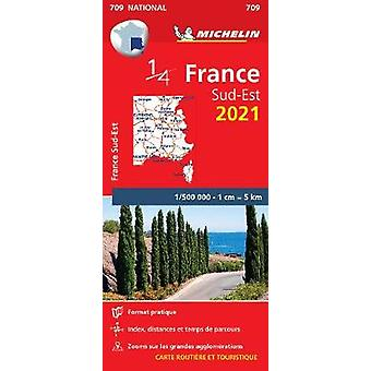 Southeastern France 2021  Michelin National Map 709 Maps Michelin National Maps