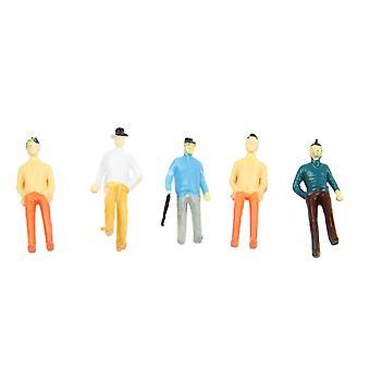 5pcs 1��75 Dollhouse Miniature Little man Model Bedroom Accessories Decoration
