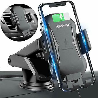 Automatyczne mocowanie Qi Wireless Phone Holder Car Charging Air Vent Charger