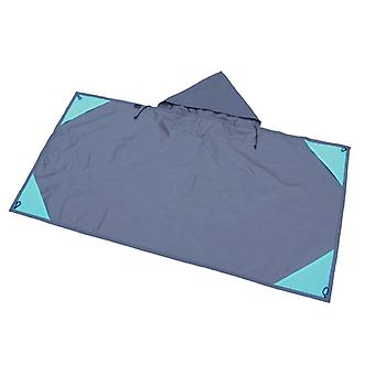 Picnic mat, waterproof pocket picnic mat for outdoor camping, 140 * 160CM
