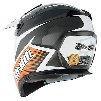 Stealth HD210 GP Replica Adult MX Helmet - Orange