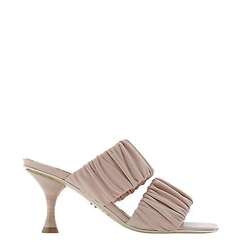Halmanera Zena23lotus Women's Pink Leather Sandals