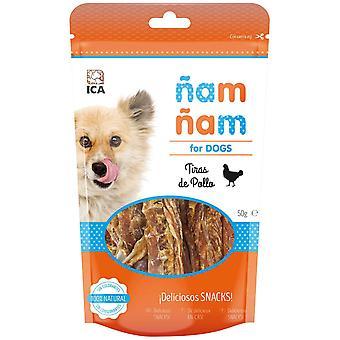ICA kylling strimler yum ñam 50G (hunde, behandler, Chewy og blødere behandler)