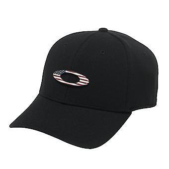 Oakley Tincan Cap - Black / American Flag