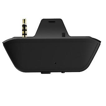 Kannettava langaton Bluetooth-sovitin 3,5 mm:n jack-kuulokemuunnin (musta)