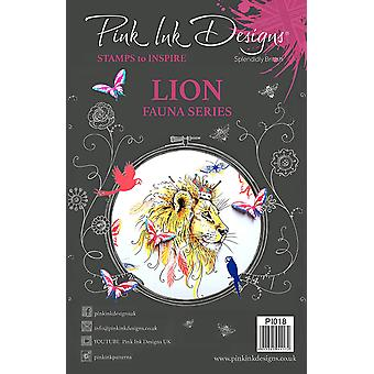 Pink Ink Designs Clear Stamp Lion A5