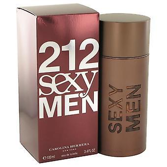212 seksikäs Eau De Toilette Spray mennessä Carolina Herrera 3,3 oz Eau De Toilette Spray