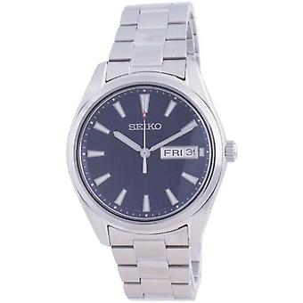 Seiko Classic Blue Dial Quartz Sur341 Sur341p1 Sur341p 100m Men's Watch