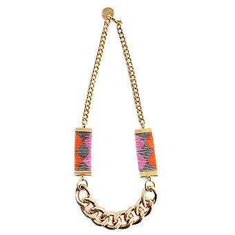 Priestess Ii Necklace - Pink / Green