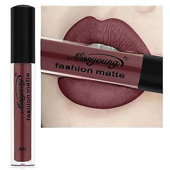 Hot Matte Lip Gloss Sexy Black Liquid, Lip Gloss Longa Duração Impermeável