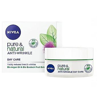 Crema Nivea Pure & Natural Anti-Wrinkle Day