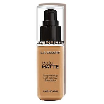 L.A. Colors Wirklich Matte Foundation Warm