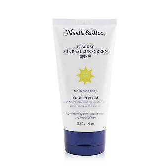 Play day mineral sunscreen spf 30 for face & body 261977 113.4g/4oz