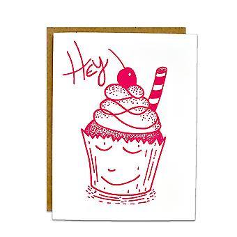 Hey Cupcake-sweet Card