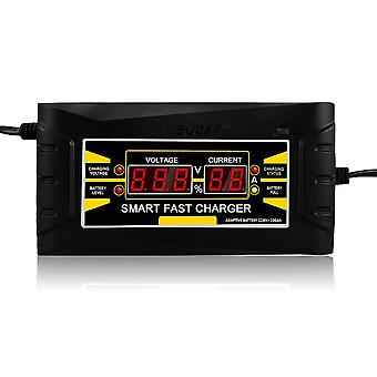 Automatic car battery charger 110v/220v to 12v 6a 10asmart fast power charging