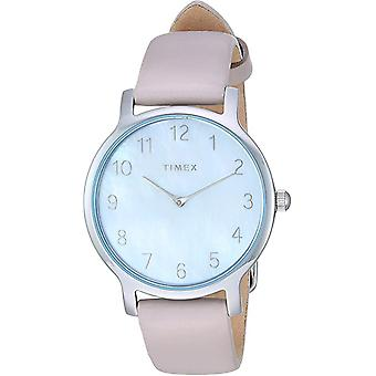 Timex Metropolitan Leather Ladies Watch TW2T35900