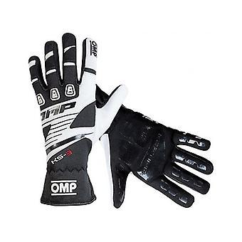 Men's Driving Gloves OMP MY2018 Noir/XL