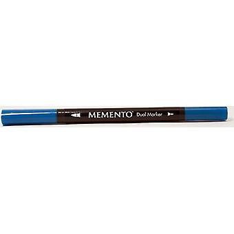 Tsukineko Memento Marker Pen - Bahama Blue