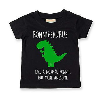 Henkilökohtainen dinosaurus Tshirt