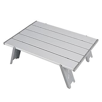 Outdoor Mini Portable Table, Foldable, Aluminum Alloy, Camping Hiking Desk,