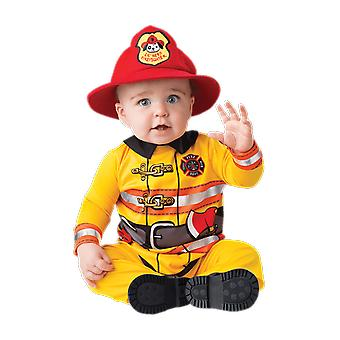 Baby Age 6 - 24 Months Fireman Costume Uniform Toddler Fancy Dress