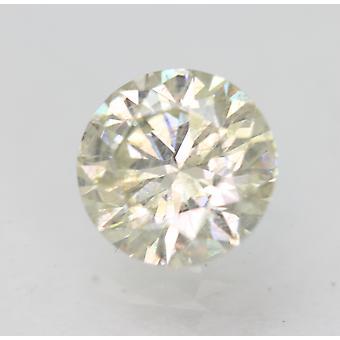 Certified 0.90 Carat J SI2 Round Brilliant Enhanced Natural Loose Diamond 6.09mm