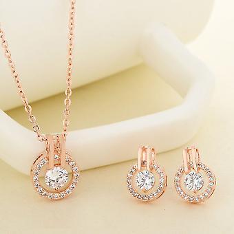 Wedding Jewelry Sets Cubic Zirconia
