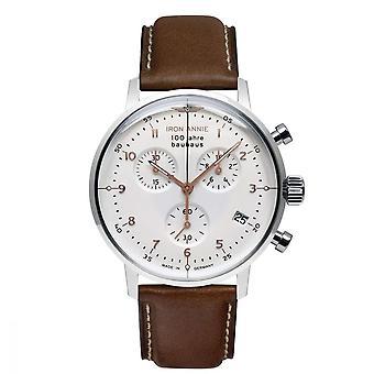 Iron Annie BAUHAUS Automatic Watch - Silver - 41 mm - I-5096-4