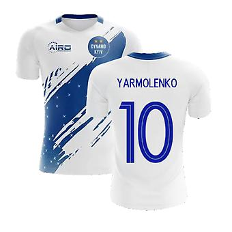 2020-2021 Dynamo Kiev Home Concept Football Shirt (Yarmolenko 10)
