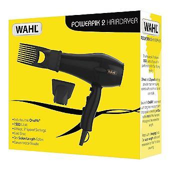 Wahl ZY017 PowerPik 2 Turbo Haardroger met Afro Comb Pik Attachment Fast Drying