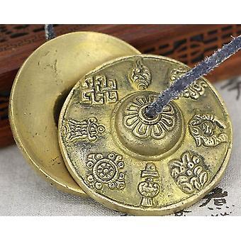 Handcrafted Tibetan Meditation Tingsha Cymbal Bell