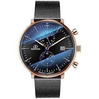 luxury watch quartz sapphire glass Watch(black2)
