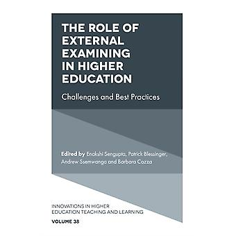 De rol van extern onderzoek in het hoger onderwijs door bewerkt door Enakshi Sengupta & bewerkt door Patrick Blessinger & bewerkt door Andrew Ssemwanga & bewerkt door Barbara Cozza