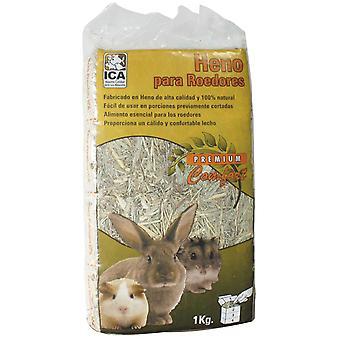 齧歯動物 1 Kg (小さなペット、花粉症) の Ica 干し草