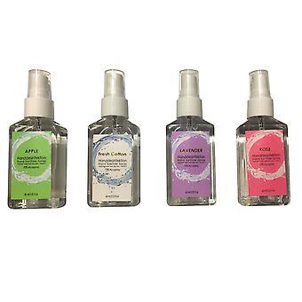 Desinfectante de manos Botella de spray fragancia 60 ml 4-pack