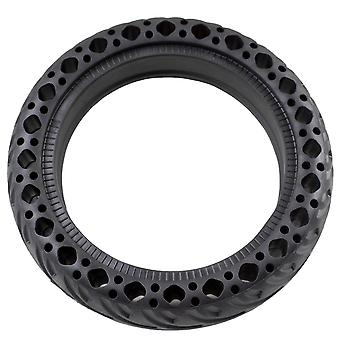 """8.5x2"""" Rounded New Honeycomb Solid Rubber Tyre (BLACK) - SINGLE"""