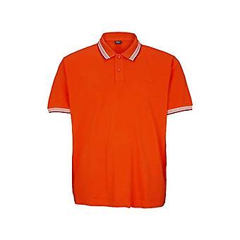 s.Oliver Big Size 131.10.004.13.130.2042586 Polo, Color: Orange, XXL Men