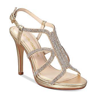 Caparros Womens Pizzaz Embellished Evening Sandals