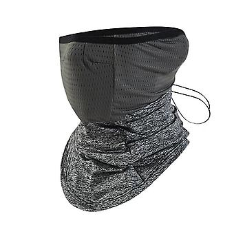 Outdoor sun protection cycling mask sports scarf ice silk breathable ice silk