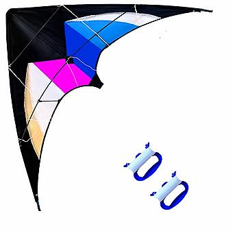 Outdoor Fun Sports, Dual Line Stunt Kite With Handle Ropes, Good Flying