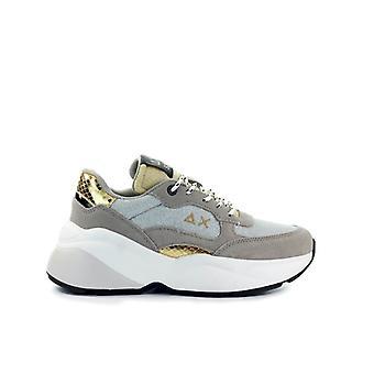 Sun68 Dani Thin Beige Silver Sneaker