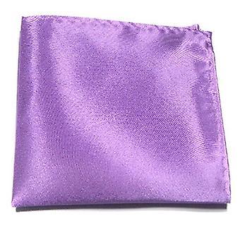 Näsduk i helfärg Hankies Silk Pocket Square Handduk
